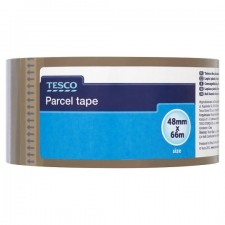Tesco Parcel Tape 48mm x 66m