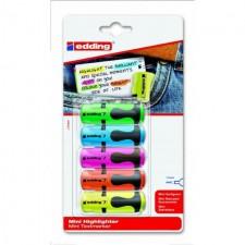 Edding Mini Highlighters 5 pack