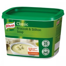 Catering Size Knorr Classic Cream of Broccoli and Stilton Soup Mix 25 Portions 468g