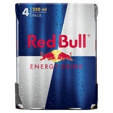 Red Bull Original Energy Drink 4 X 250ml Cans