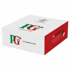 Catering Size PG Tips One Cup Tea Bags with Tags x100