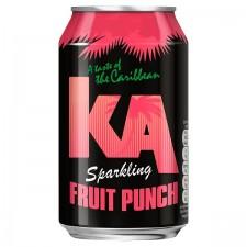 KA Sparkling Fruit Punch Flavour Drink 24x 330ml
