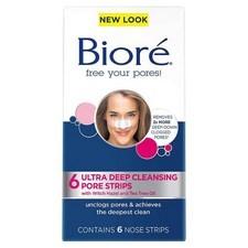 Biore 6 Pore Strips Ultra