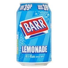 Retail Pack Barr Lemonade 24 x  330ml