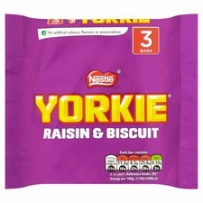 Yorkie Raisin And Biscuit 3 Pack