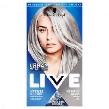 Schwarzkopf LIVE Urban Metallics U71 Metallic Silver Permanent Hair Dye