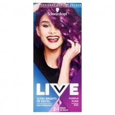 Schwarzkopf LIVE Ultra Brights or Pastel 094 Purple Punk Semi-Permanent Hair Dye