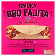 Sainsburys Smoky BBQ Fajita Kit 500g