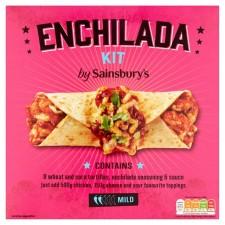 Sainsburys Enchilada Kit 650g