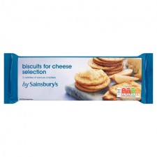 Sainsburys Biscuits for Cheese 170g