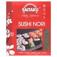 Saitaku Sushi Nori 14g 5 Sheets