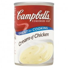Campbells Cream Of Chicken Condensed Soup 295g