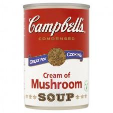 Campbells Cream Of Mushroom Condensed Soup 295g