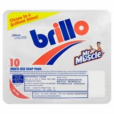 Brillo Soap Pads 10 Pack