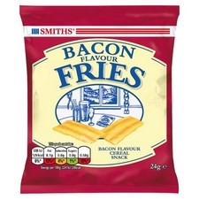 Smiths Bacon Fries 24 x 24g carded