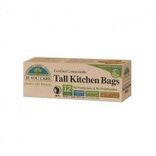 If You Care FSC Certified 13 Gallon Compostable Tall Kitchen Bags 12 per pack