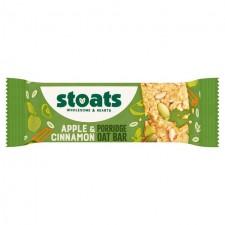 Stoats Apple And Cinnamon Porridge Bar 50g
