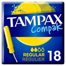 Tampax Compak with Applicator Regular 18