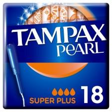 Tampax Pearl Tampons Super Plus 18 per pack