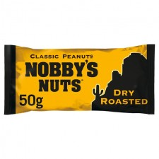 Nobbys Nuts Classic Dry Roasted Peanuts 50g