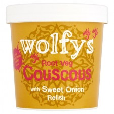 Wolfys Root Veg Couscous with Sweet Onion Relish 97g