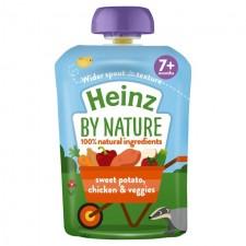 Heinz 7 Month Sweet Potato Chicken And Veggies 130g pouch