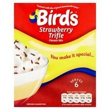 Retail Pack Birds Trifle Strawberry 141g x12