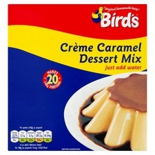 Catering Size Birds Creme Caramel 20 portion 6 x 430g