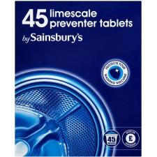 Sainsburys Limescale Preventer Tablets x45