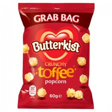 Butterkist Grab Bag Popcorn Toffee 60G