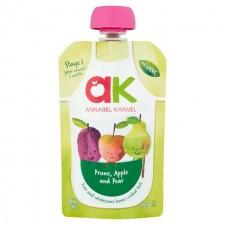 Annabel Karmel Organic Prune Apple and Pear 100g