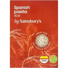 Sainsburys Spanish Paella Rice 500g