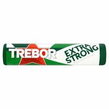 Retail Pack Trebor Extra Strong Peppermint 40x41.3g Roll Pack