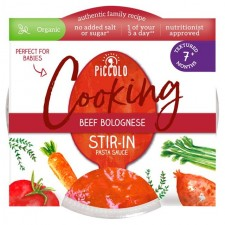 Piccolo Organic Beef Bolognese Stir In Pasta Sauce 80g