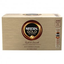 Catering Size Nescafe Gold Blend 200 Sachets