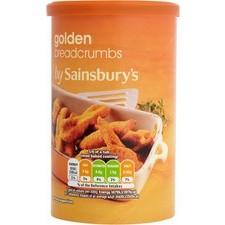 Sainsburys Golden Breadcrumbs 230g