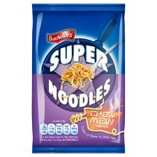 Retail Pack Batchelors Super Noodles Chinese Chow Mein Flavour 8x100g