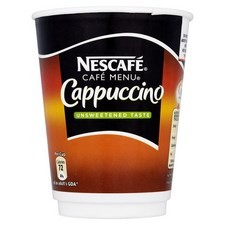Nescafe Cafe Menu Cappuccino Unsweetened Taste 8 Cup Pack x 4 Packs