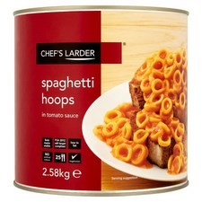 Catering Size Chefs Larder Spaghetti Hoops 2.58kg