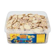 Tuck Shop White Chocolate Disco Disks 120 Pack