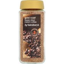 Sainsburys Gold Roast Instant Coffee 200g