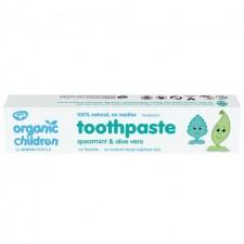 Green People Organic Children Spearmint and Aloe Vera Toothpaste 50ml