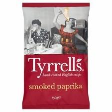 Tyrrells Smoked Paprika Crisps 150g