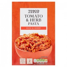 Tesco Tomato And Herb Pasta And Sauce 120g