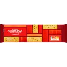 Sainsburys Highland All Butter Shortbread Fingers 400g