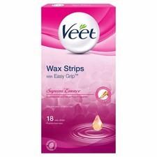 Veet Wax Strips Suprem Essence Normal 18 per pack