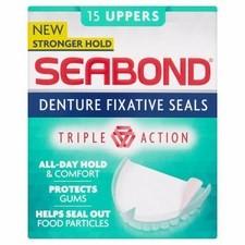 Seabond Denture Fixative Seals Original 15 Uppers