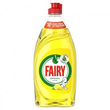 Fairy Washing Up Liquid Lemon 433ml