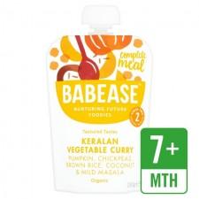 Babease Organic Keralan Vegetable Curry 130g