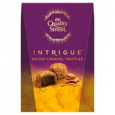Nestle Quality Street Intrigue Salted Caramel Truffles Carton 200g